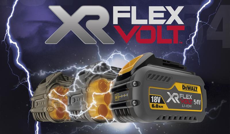 DeWalt XR Flexvolt technologie