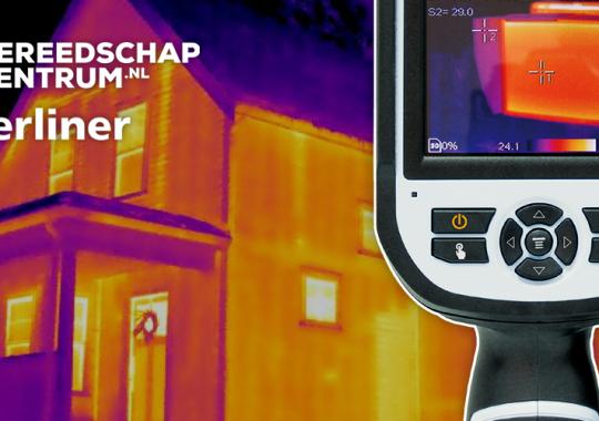 Laserliner ThermoXplorer Pro bij Gereedschapcentrum.nl