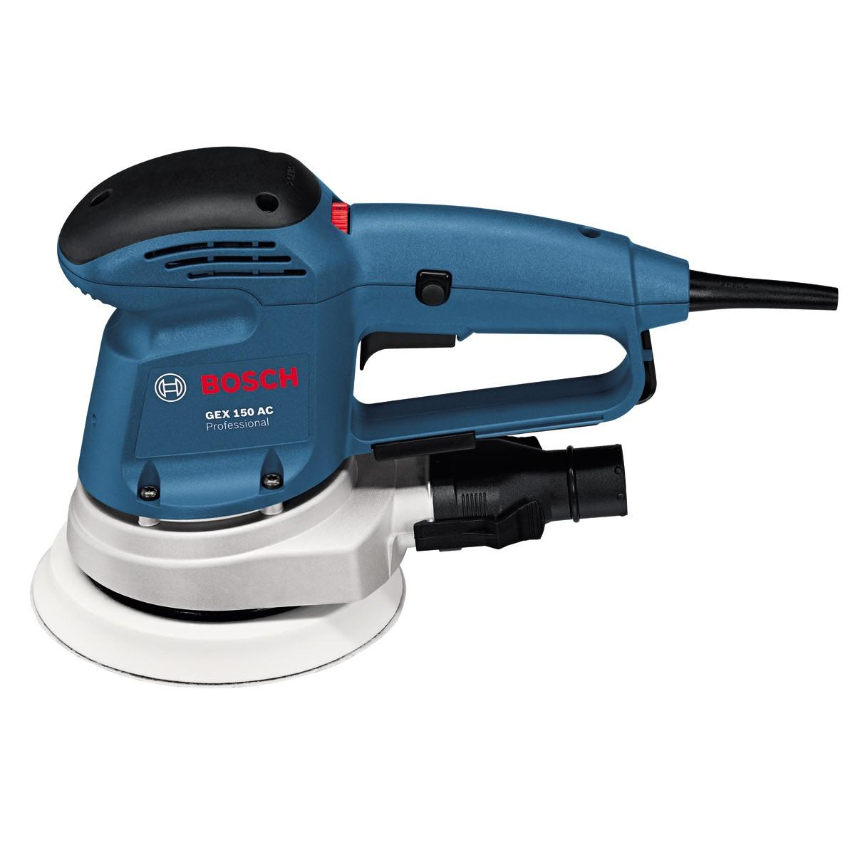- Bosch GEX 150 AC Excentrische schuurmachine - 340W - 150mm - variabel