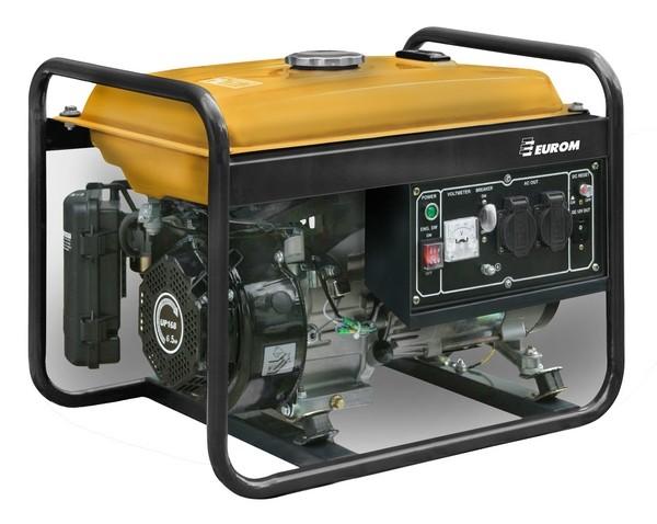 - Eurom GE 2501 Aggregaat - 2200W - 4 takt