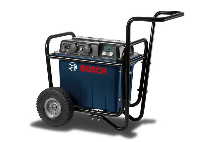 Bosch GEN 230V - 1500 Professional accu power unit met trolley