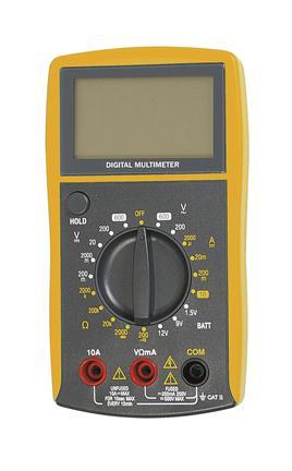 Afbeelding van Digi Tool 382B Multimeter AC/DC 250V