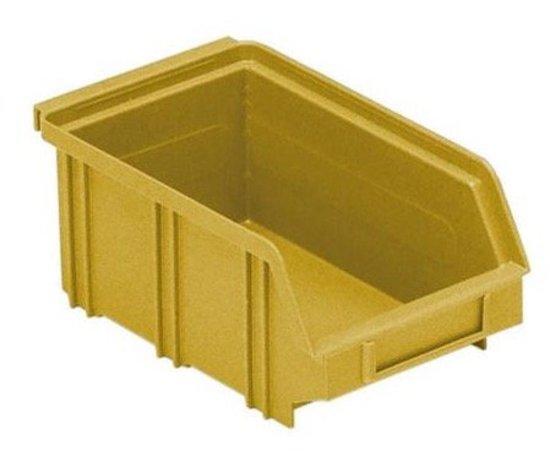Afbeelding van Erro 166002GE Stapelbakken B2 geel 100 x 160 75mm