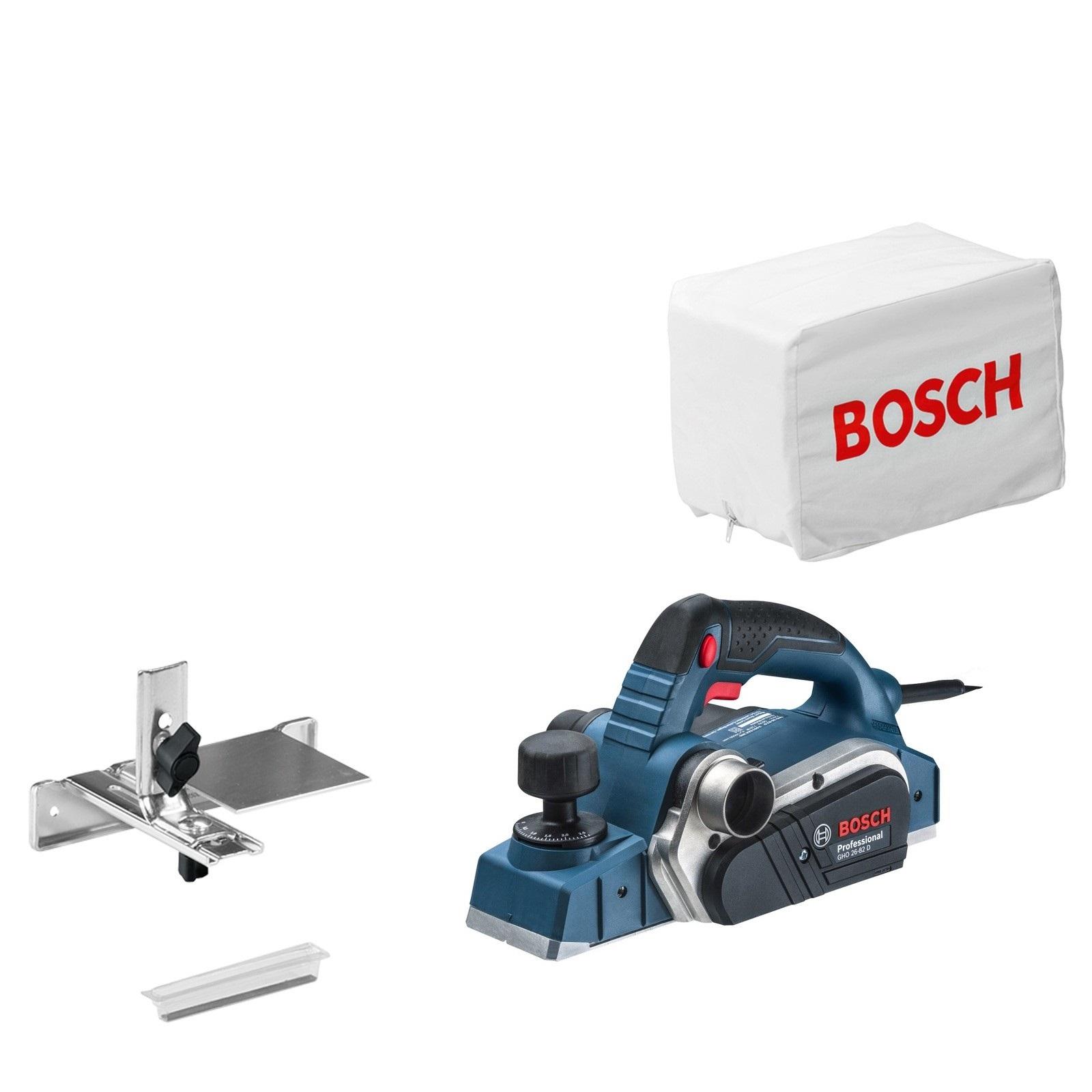 - Bosch GHO 26 - 82 D Schaafmachine - 710W - 82mm - 2, 6mm
