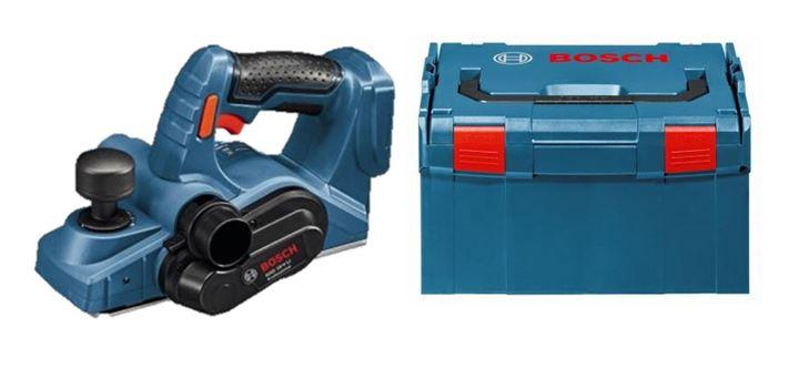 - Bosch GHO 18 V - Li SOLO 18V Li - Ion accu schaafmachine body in L - Boxx - 82mm - 1, 6mm