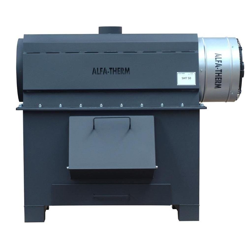 Afbeelding van Alfa Therm SHT50 Werkplaats houtkachel/allesbrander 1400 x 1180 720mm