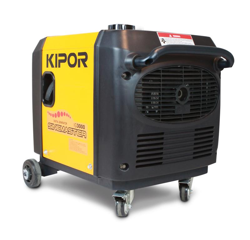 - Kipor IG3000 Benzine inverter Aggregaat - 3000W - 4 takt