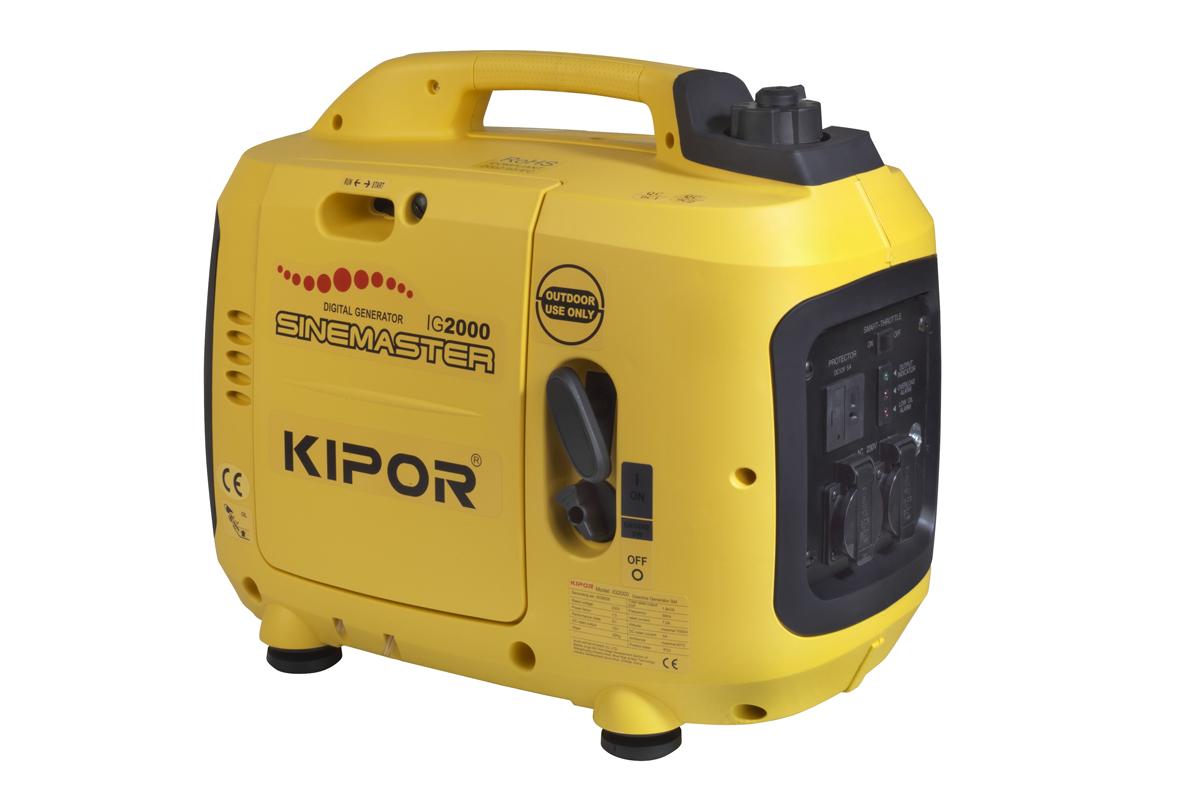 Kipor IG2000 Benzine inverter Aggregaat - 2000W - 4 takt