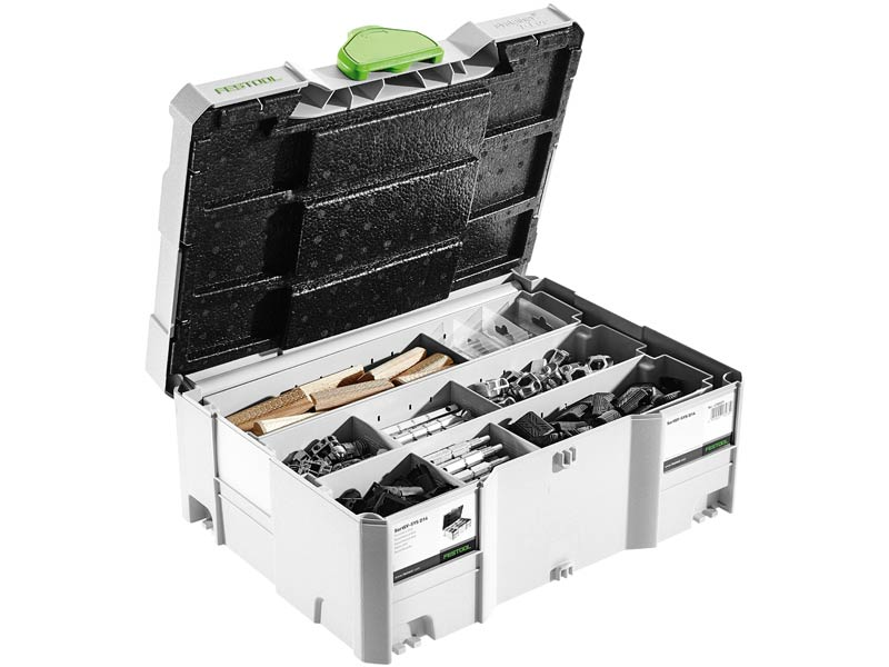 - Festool 201353/SV - SYS D14 Verbindingsassortiment in systainer