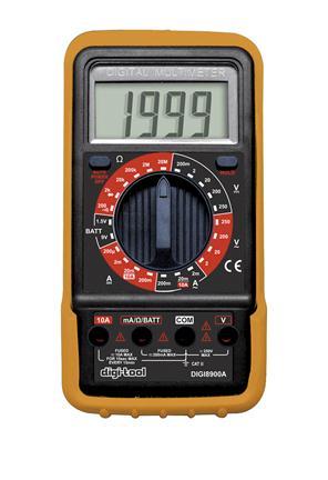 Afbeelding van Digi Tool 8900 Multimeter 250V / 10A