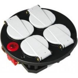 Afbeelding van Brennenstuhl 1081080 4 voudige inzet IP20 230V/16A thermostaat met controlelicht