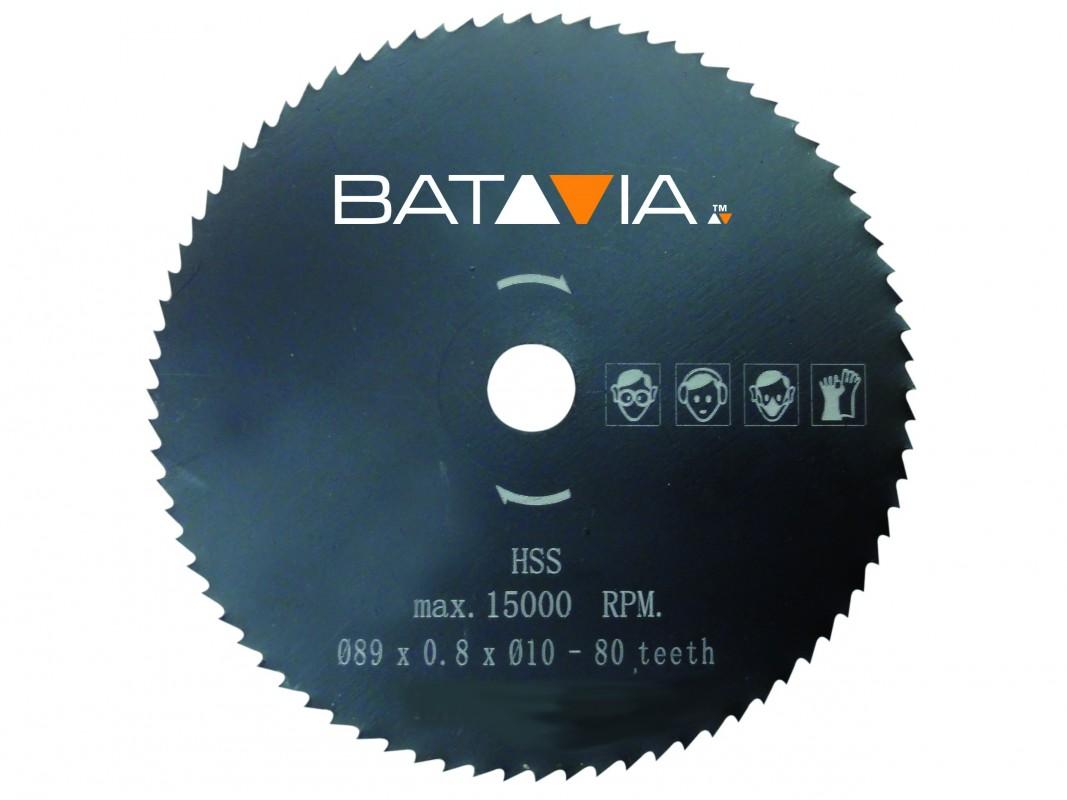 Afbeelding van Batavia 7061240 Cirkelzaagblad 89 x 10 80T Hout