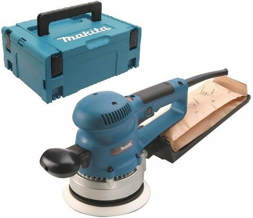 - Makita BO6030J Excentrische schuurmachine in Mbox - 310W - 150mm - variabel