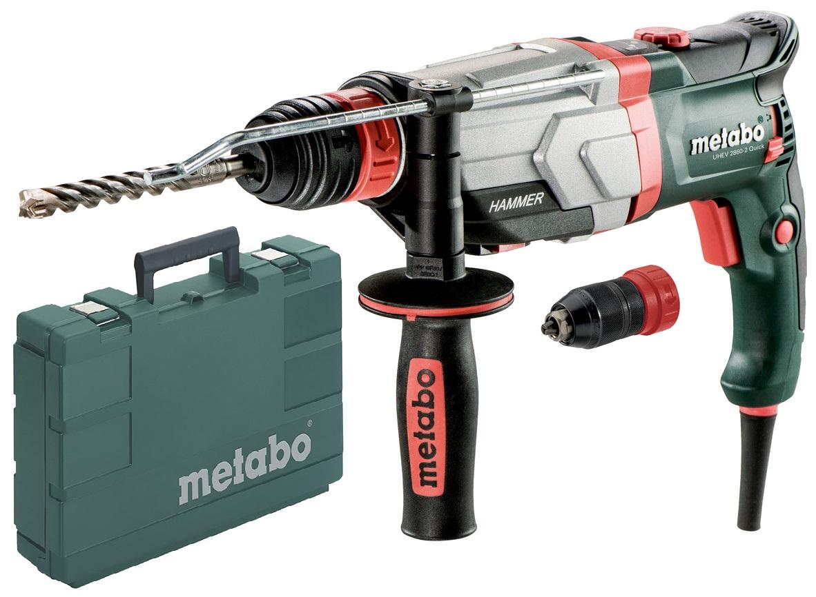 - Metabo KHE 2660 QUICK SDS - plus Combihamer incl. snelspanboorkop in koffer - 850W - 3J