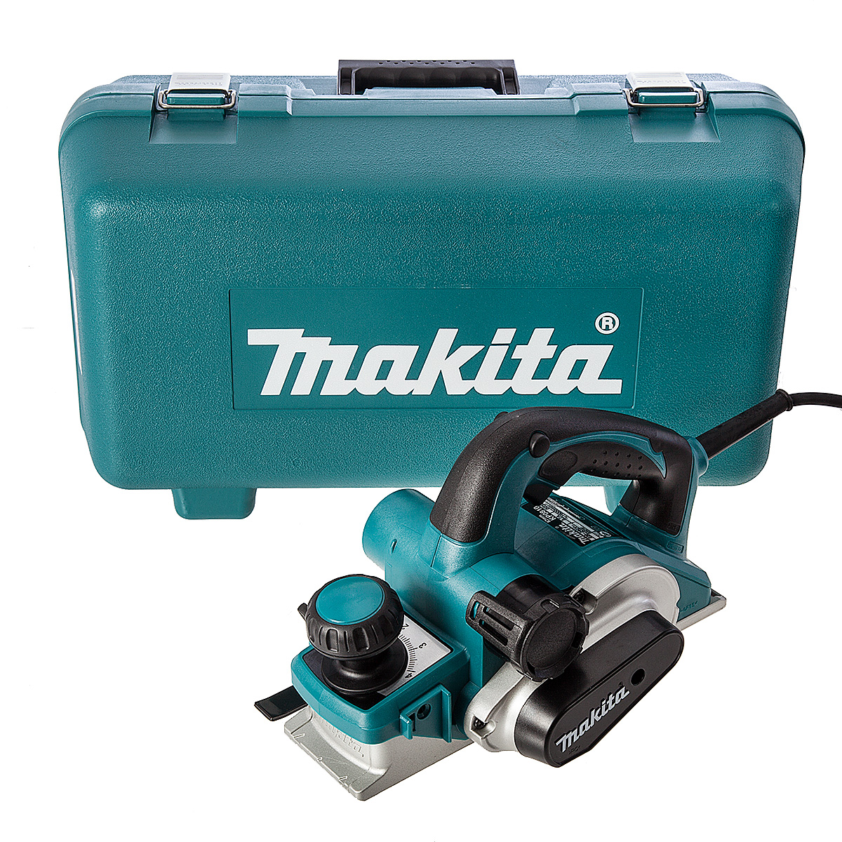 - Makita KP0810K schaafmachine in koffer - 850W - 82mm - 4mm