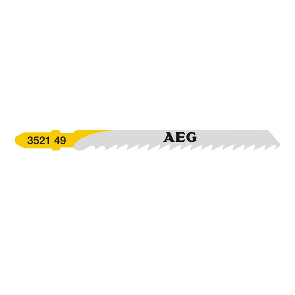 Afbeelding van AEG 4932352149 HCS Decoupeerzaagblad T 101 D Zacht hout (5st)