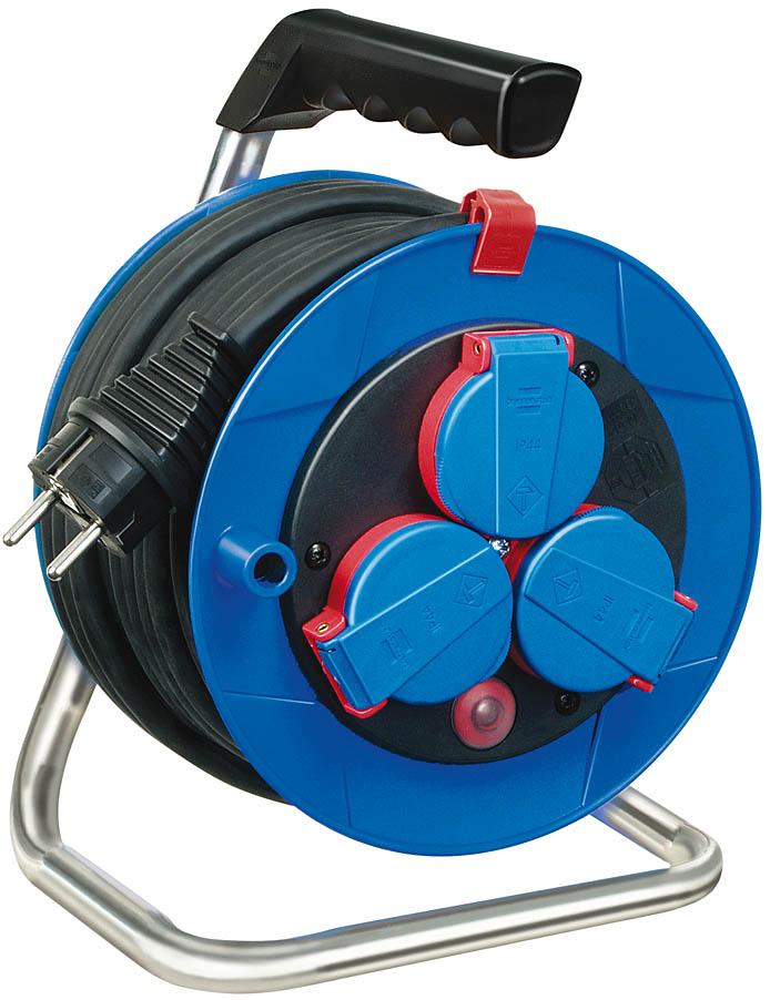 Afbeelding van Brennenstuhl 1072240 Garant compact kabelhaspel N05V3V3 F 3G1,5 15m