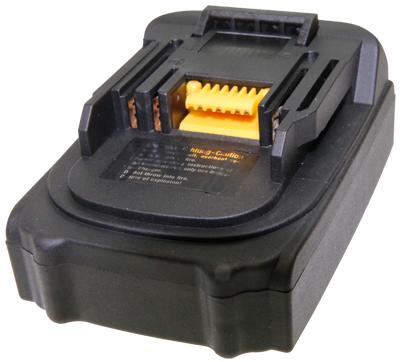 Afbeelding van Akku Power 302594 18V 1300mAh Li Ion accu compatibel met Makita 194205 3 / BL1830