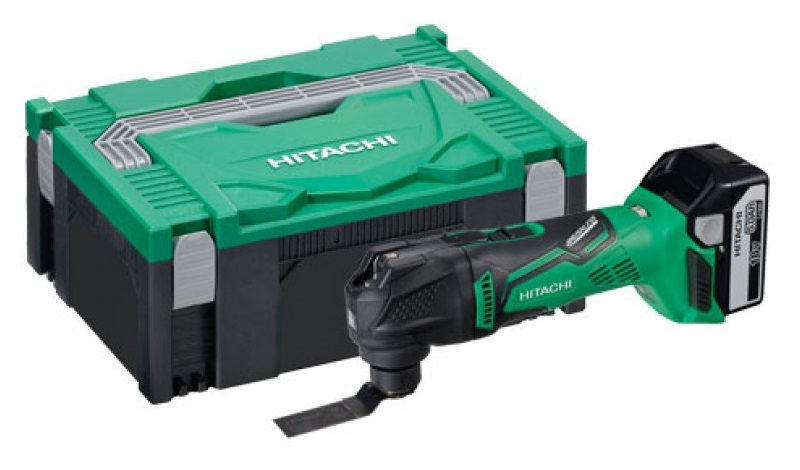 Hitachi CV18DBL(WP)18V Li - Ion accu multitool set(2x 5.0Ah accu)in System Case