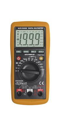 Afbeelding van Digi Tool 420A Multimeter AC/DC 250V