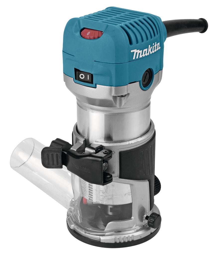 - Makita RT0700C kantenfrees - 710W - 6mm - 8mm