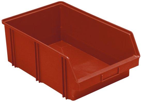 Afbeelding van Erro 160805RO Stapelbakken B5 rood 185 x 310 470mm