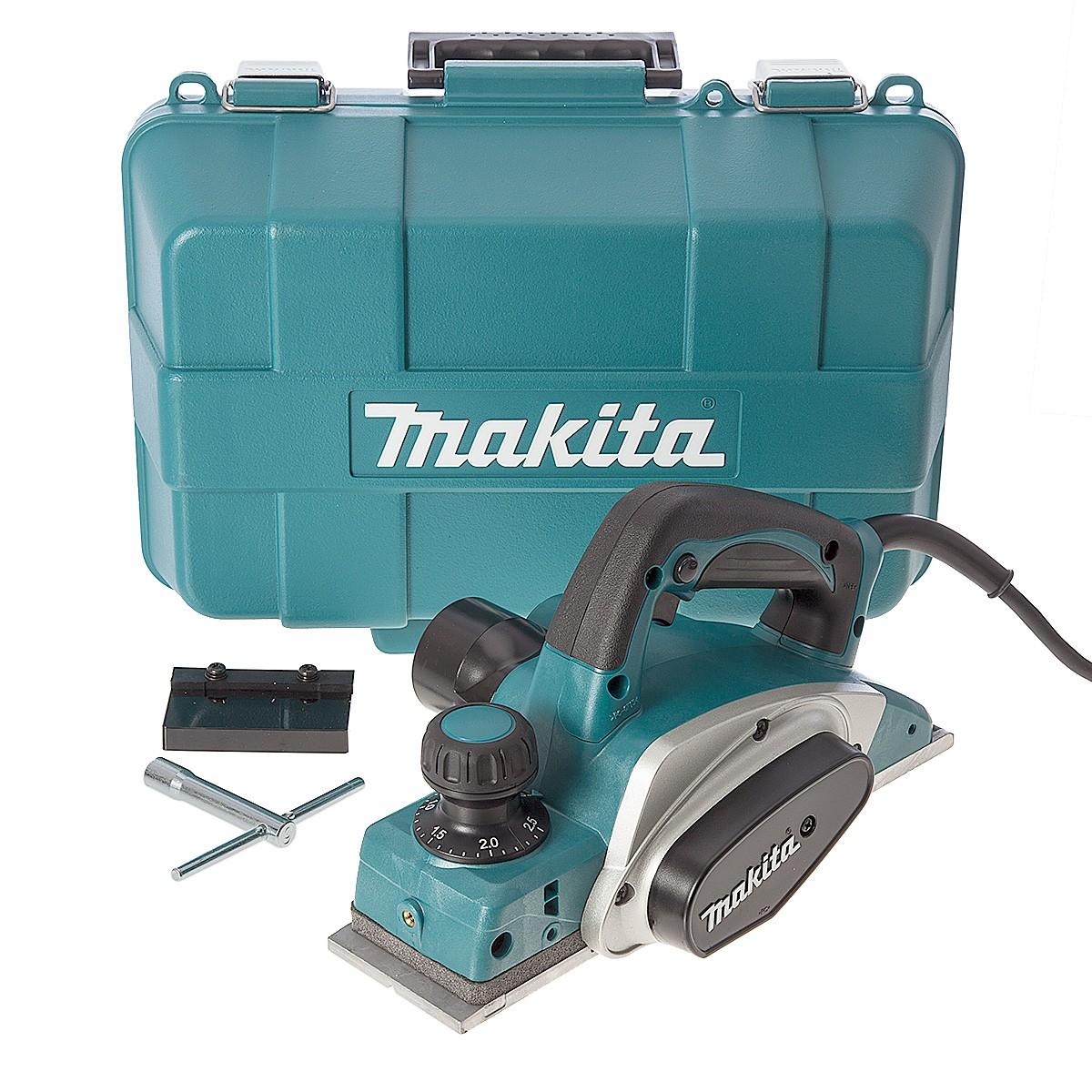 - Makita KP0800K Elektrische Schaafmachine in koffer - 620W - 82mm - 2, 5mm