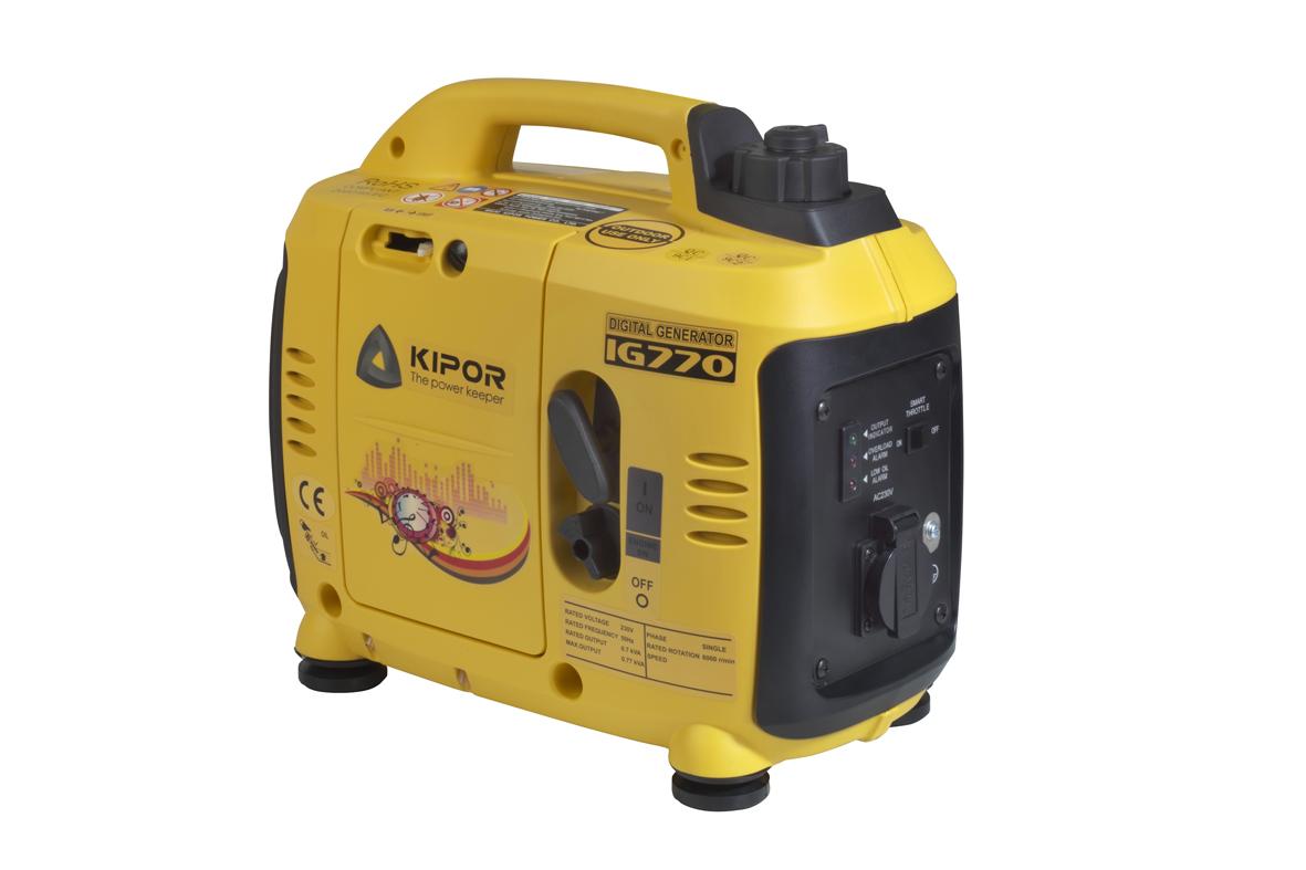 Kipor IG770 Benzine inverter Aggregaat - 770W - 4 takt
