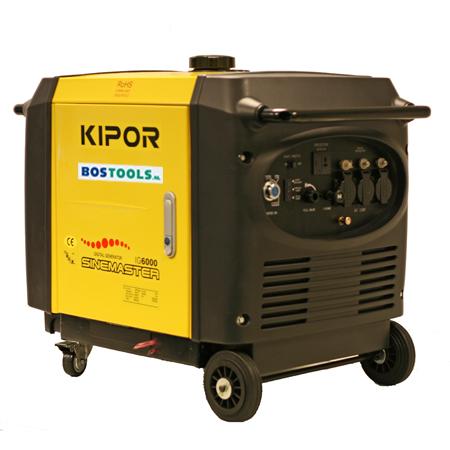 - Kipor IG6000 Benzine inverter Aggregaat - 6000W - 4 takt