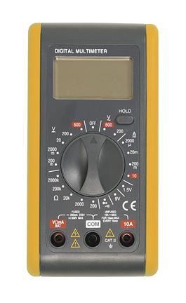 Afbeelding van Digi Tool 386B Multimeter AC/DC 250V