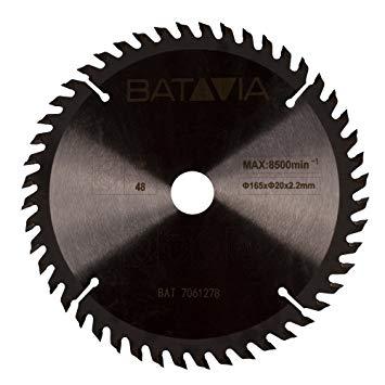 Afbeelding van Batavia 7061278 Cirkelzaagblad 165 x 20 48T Hard hout / Laminaat