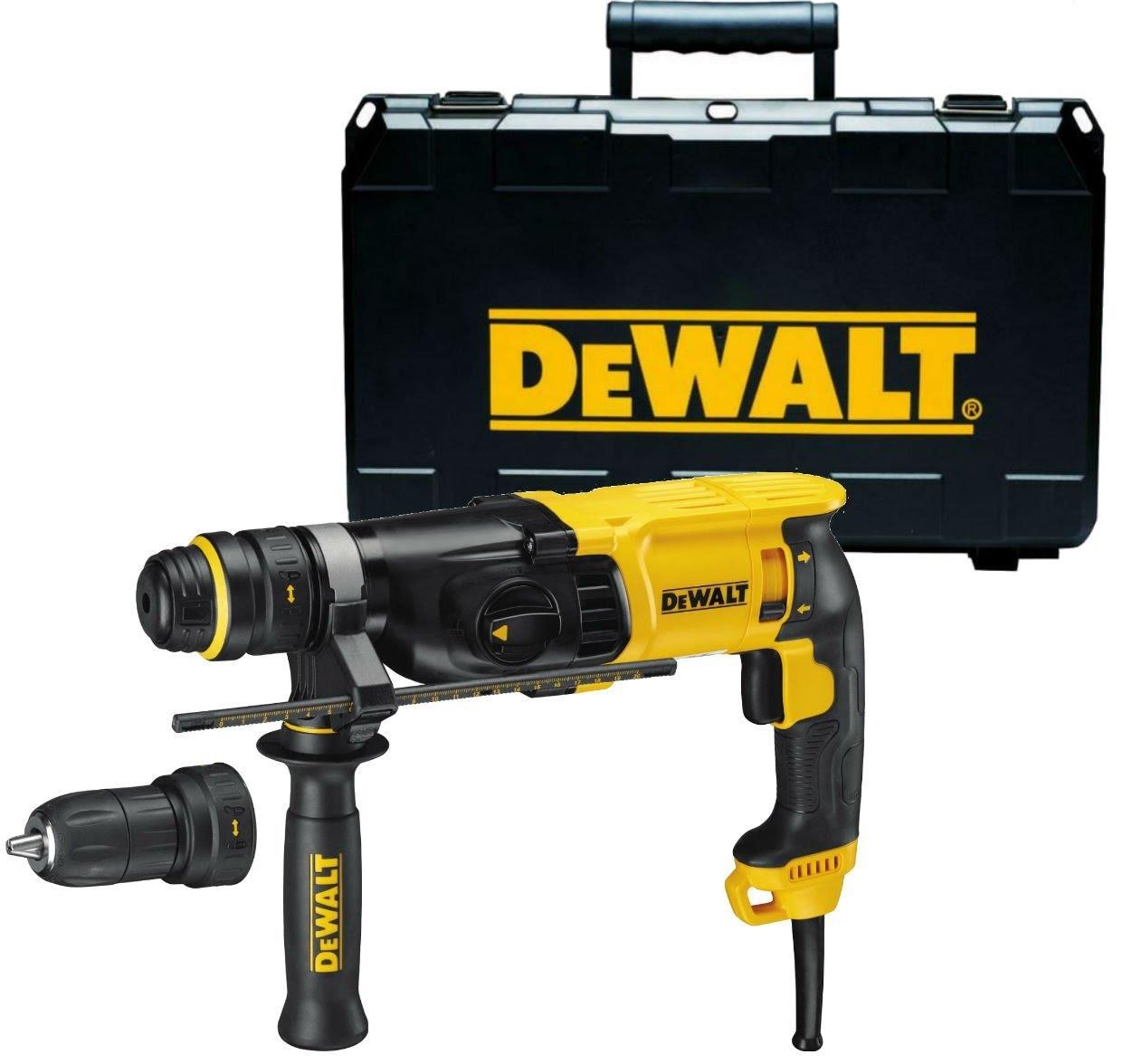 - DeWalt D25134K SDS - plus Combihamer incl. snelspanboorkop in TSTAK - 800W - 2, 8J