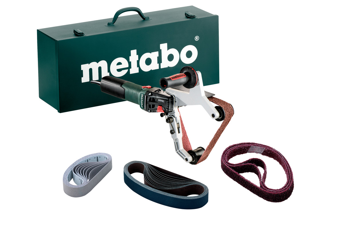 - Metabo RBE 15 - 180 SET Buizenslijper incl. schuurbanden in metalen koffer - 1550W - 40 x