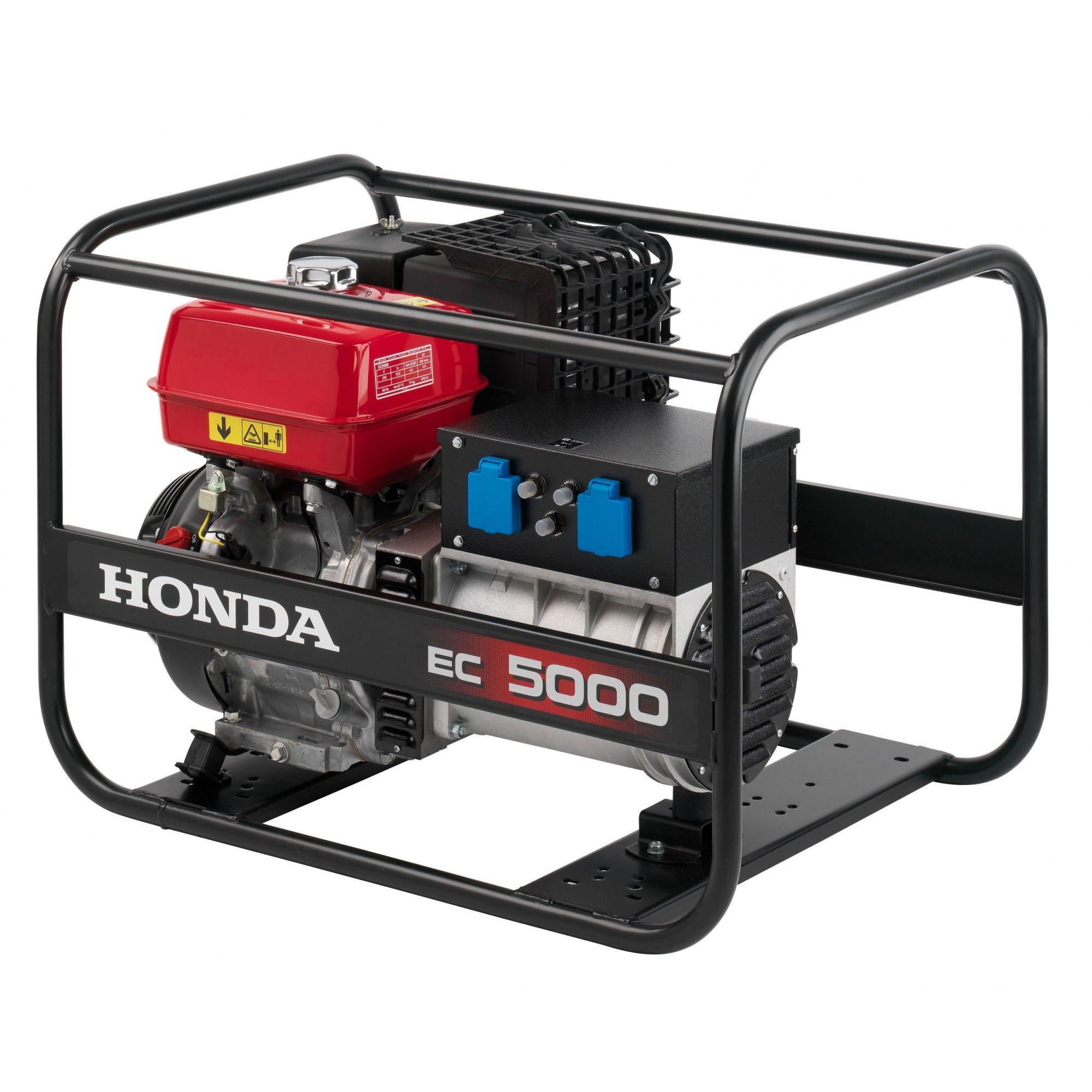 - Honda EC 5000 duurzaam aggregaat/generator