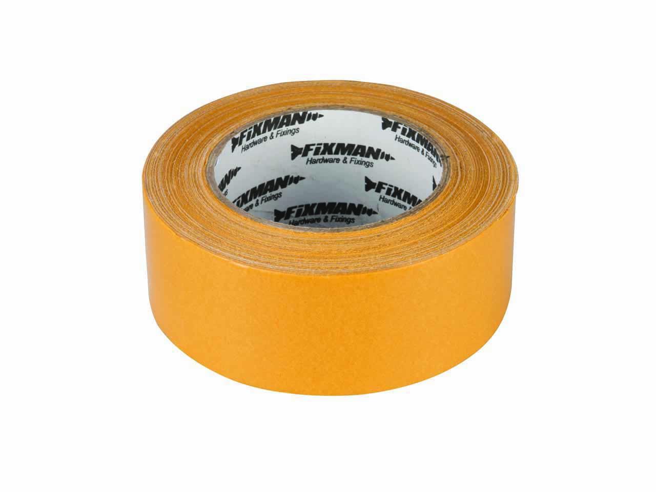 Afbeelding van Fixman Sterke Dubbelzijdige Tape 25 Mm X 2,5 Meter