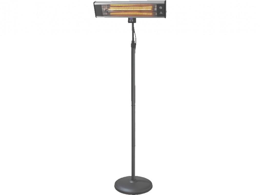 Eurom TH1800S Staande Terrasverwarmer incl. afstandbediening - 1800W - 690 x