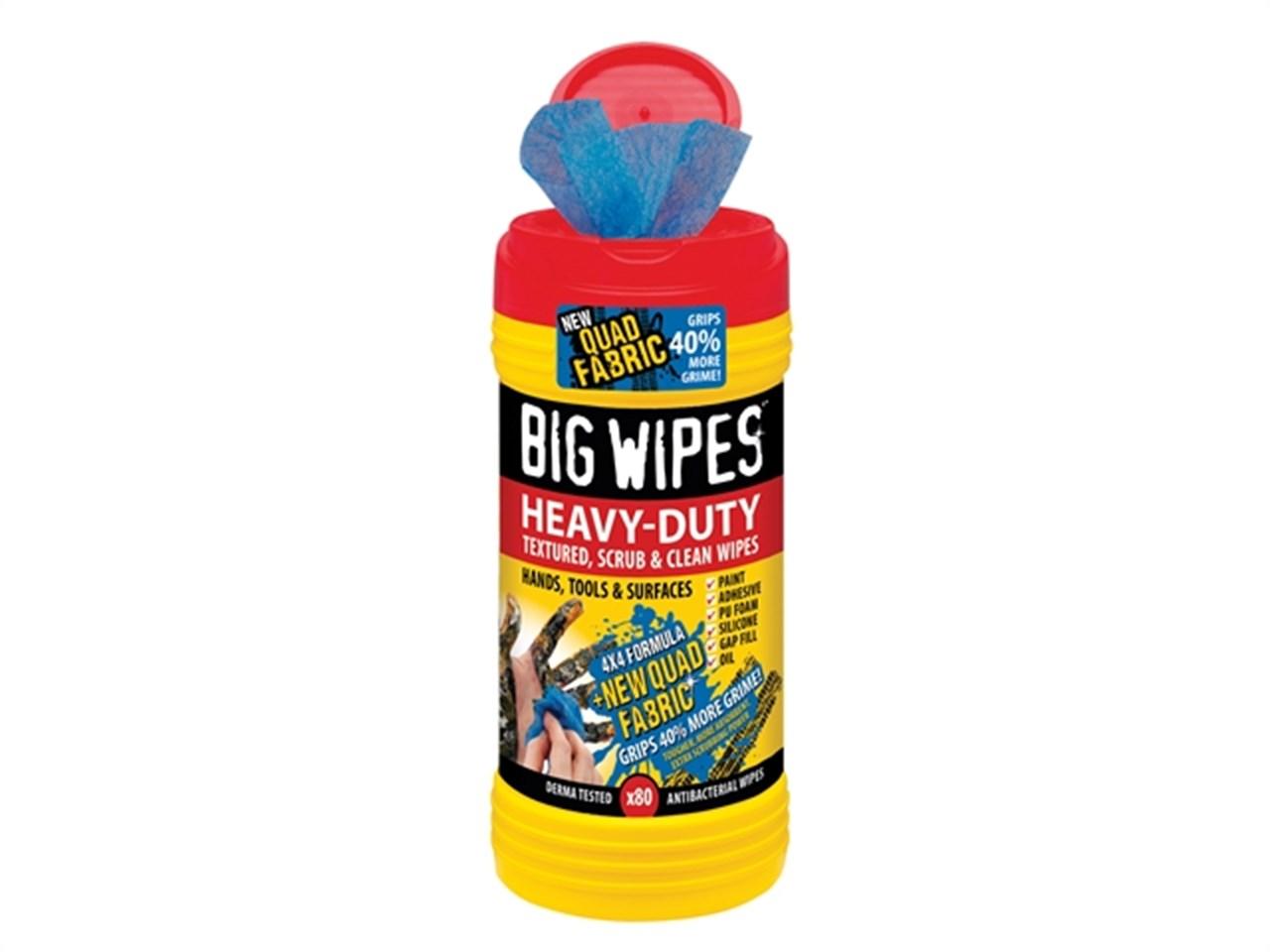 Afbeelding van Big Wipes 2420 4444 Heavy Duty Reinigingsdoekjes (80st)