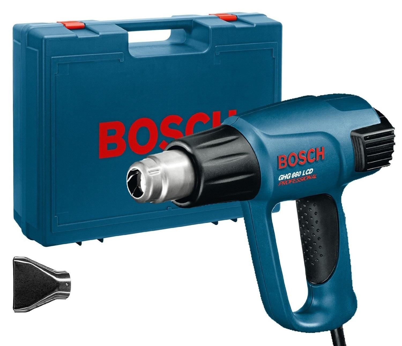 - Bosch GHG 660 LCD heteluchtpistool in koffer