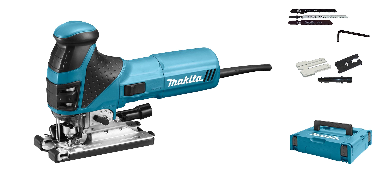 - Makita 4351FCTJ Decoupeerzaag in Mbox - 720W - T - greep - variabel