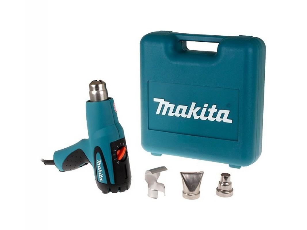 - Makita HG551VK heteluchtpistool in koffer