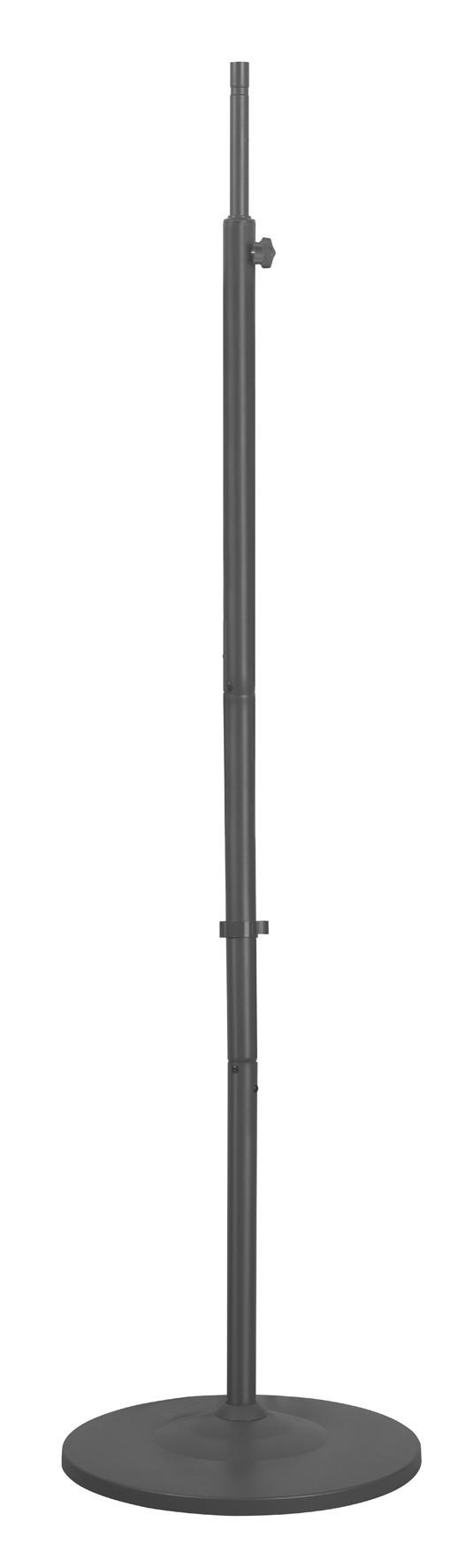 Afbeelding van Eurom 334012 Golden Halogeen Serie Floorstand ronde basis voor terrasverwarmers
