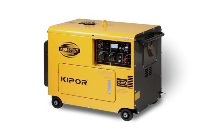 - Kipor KDE6700T Diesel Aggregaat - 5000W(230V) - 1 - cylinder