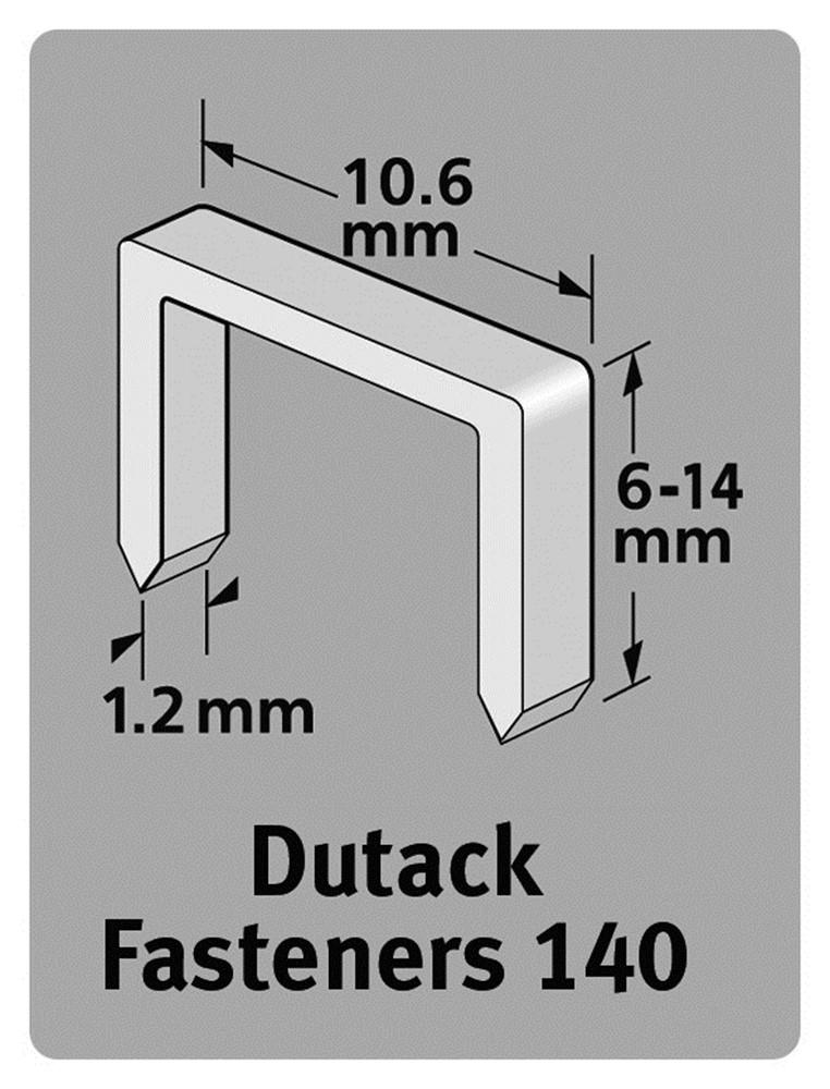 Afbeelding van Dutack 5011021 Nieten Serie 140 14mm (1000st)