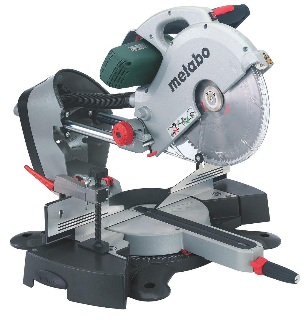- Metabo KGS 315 PLUS Telescopische afkort - en verstekzaagmachine - 2200W - 315 x