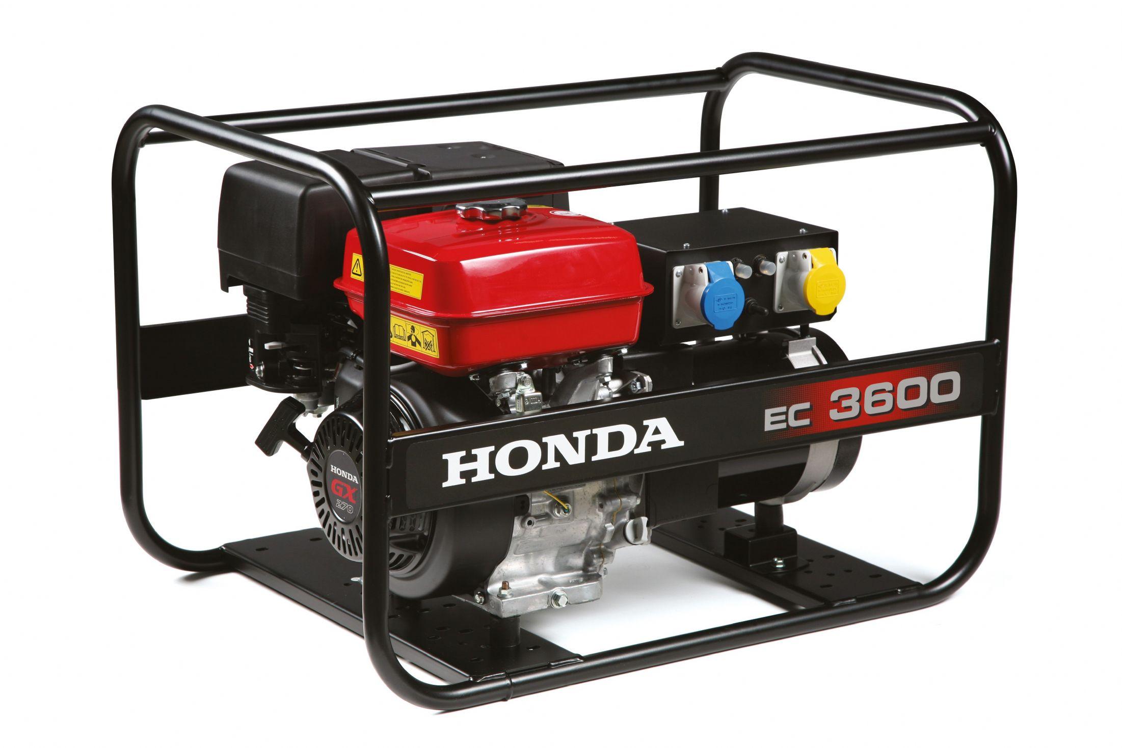 - Honda EC 3600 duurzaam aggregaat/generator