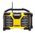 DeWalt DCR017 10.8-18V Li-Ion Accu bouwradio met laadfunctie - DAB+ - netstroom & accu - DCR017-QW