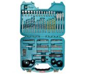 Makita P-90249 100 delige accessoire set in koffer