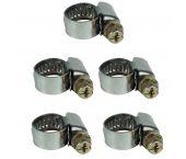 Einhell 4139670 Slangklemmenset 5 stuks (8 - 12mm)