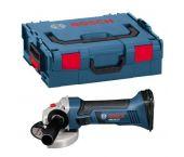 Bosch GWS 18 V-LI SOLO 18V Li-Ion Accu haakse slijper body in L-Boxx - 115mm - 060193A304