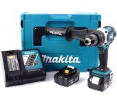 Makita DDF458RMJ 18V Li-Ion accu boor-/schroefmachine set (2x 4.0Ah accu) in Mbox